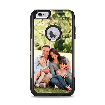 Custom Add Your Own Photo Skin Apple iPhone 6 Plus Otterbox Commuter Case Skin Set