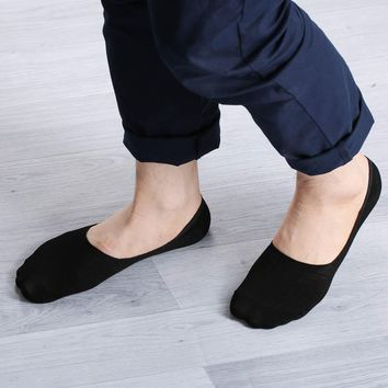 Fashion Unisex Women Men Loafer Boat Non-Slip Invisible No Show Nonslip Liner Low Cut Soft Breathable Cotton Socks Hot Sale