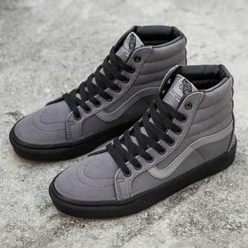 031a71ab56954e Vans SK-Hi Reissue Black Outsole High-Top Canvas Sneakers Sport
