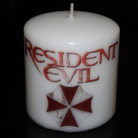 Resident Evil Candle