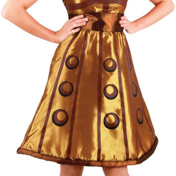 women's costume: doctor who dalek dress | small/medium