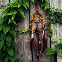 Small Dream Catcher Natural Dreamcatcher Leather