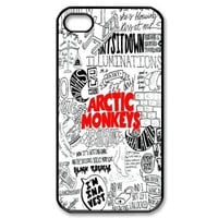 Arctic Monkeys Hard Plastic Back Cover Case for iphone 4, 4S