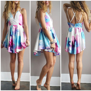 A Flowy Little Floral Dress