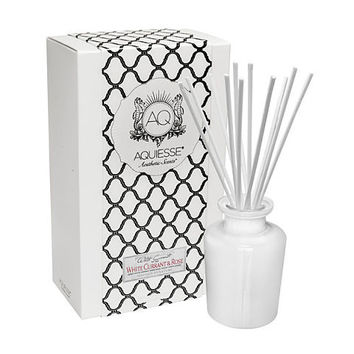 AQUIESSE WHITE CURRANT & ROSE OIL REED DIFFUSER GIFT SET