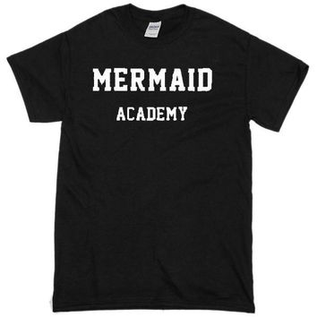 Mermaid Academy Custom Men's Gildan Adult T-Shirt