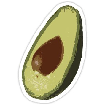 Avocado by redcowtees