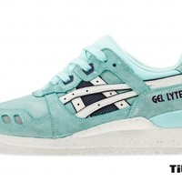 titolo asics gel lyte III H478L-4101Blue Tint/White
