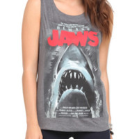 Jaws Poster Girls Tank Top