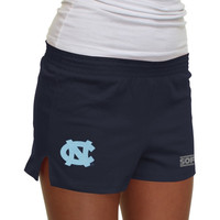 North Carolina Tar Heels :UNC: Ladies New Soffe Shorts - Navy Blue