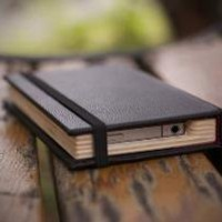 BEAUTIFUL NEW iPhone 4 case The Little Black Book by PadandQuill