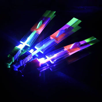 LED Arrow Helicopters Toy