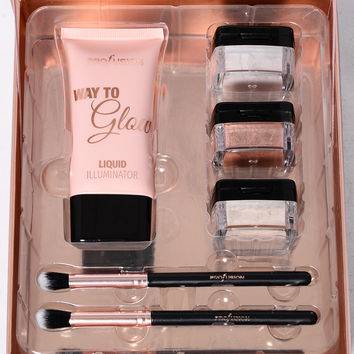 Profusion Cosmetics: Way To Glow Highlighter Kit - Highlight
