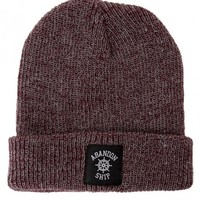 Abandon Ship Apparel - Heritage Maroon - Beanie