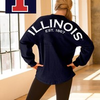 Illinois™ - Est. 1867 (University of Illinois at Urbana-Champaign) - Classic Crew Neck Spirit Jersey®
