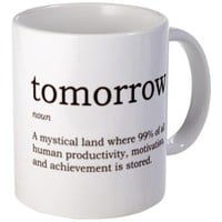 Tomorrow Mug - Adventure Factory