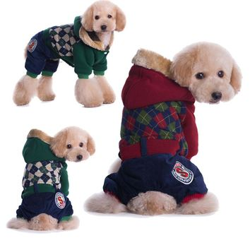 High Quality Pet Dog Clothes For Dogs Printed Cartoon Cotton Dog Coat Vest Cotton Dog Clothes For Roupa Para Perros Cachorro