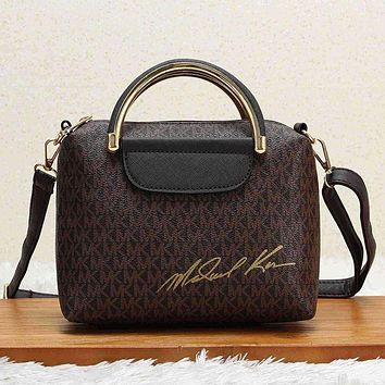 MICHAEL KORS Women Fashion Leather Crossbody Handbag Shoulder Bag Satchel