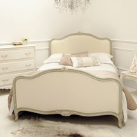 The Mansart Upholstered Bed | Sweetpea and Willow