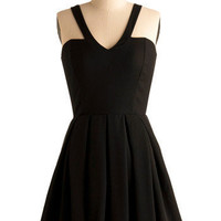 Jack by BB Dakota I Just Wanna Dance Dress | Mod Retro Vintage Printed Dresses | ModCloth.com