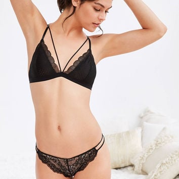 Out From Under Ari Strappy Front Triangle Bra | Urban Outfitters