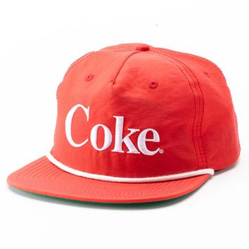 Coca Cola Baseball Cap - Men, Size: One Size (Red)