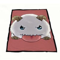 poro league of legends Fleece Blanket