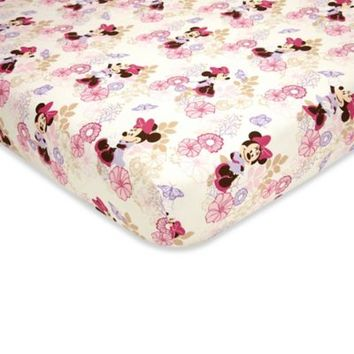 Disney Baby Butterfly Dreams Fitted Crib Sheet