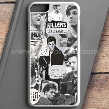 Louis Tomlinson Collage iPhone 6S Plus Case | casefantasy