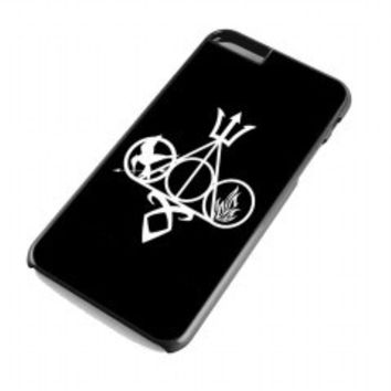 Harry Potter, Percy Jackson, Mortal Instruments, Hunger Games, and Divergent for iphone 6 plus case
