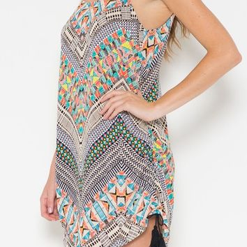 Dreaming of Mexico Tassel Dress