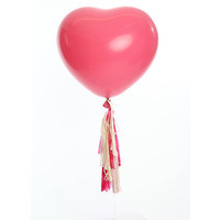 The 'Rose Pink Heart' Balloon