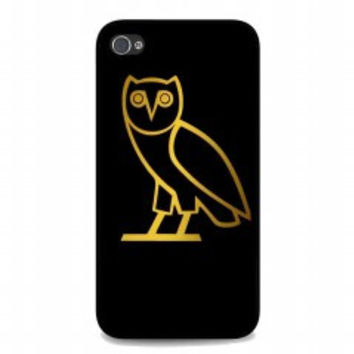 OVOXO Hoodie, Owl for iphone 4 and 4s case
