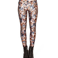 Cat Print Leggings