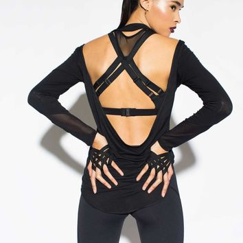 Michi - Helix | Criss Cross Back Sports Bra
