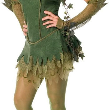 poison ivy adult costume - small
