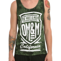 Of Mice & Men Shield Tie Dye Tank Top