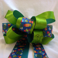 Robot Party Bow from A Bow For Mama