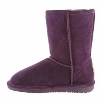 "Womens Emma 8"" Boot by BEARPAW in color Dark Honey"