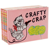 Crafty Crap Large Treasure Tin - PLASTICLAND