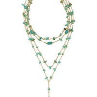 BaubleBar Mitra Layered Y-Necklace | Nordstrom