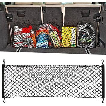 Auto Car Vehicle Storage Mesh Nets Resilient String Bag holder Organizer