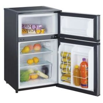 Magic Chef, 3.1 cu. ft. Mini Refrigerator in Stainless Look, HMDR310SE at The Home Depot - Mobile