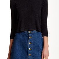 Traveler Mock Neck Top