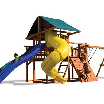 Playnation The High Wire Wooden Swing Set