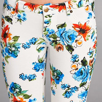 Flair for Floral Jegging