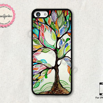 Love Tree iPhone 5C Case, iPhone Case, iPhone Hard Case, iPhone 5C Cover