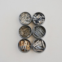 Collection of silver embellishments (1/2 oz)