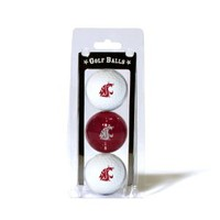 NCAA Washington State 3-Pack Team Golf Balls