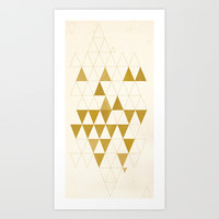 My Favorite Shape Art Print by Krissy Ðiggs